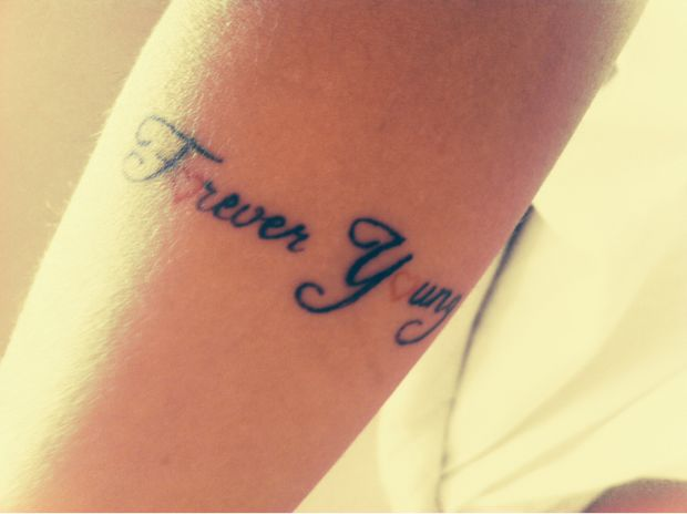 Forever young tatuagens tattoo for Forever young in japanese tattoo