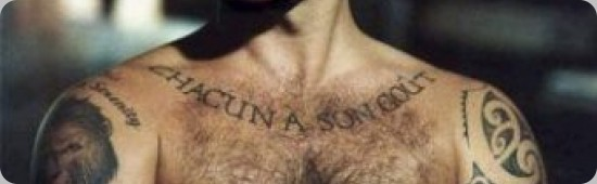 tatuagens de Robbie Williams