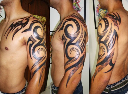 Tribal Tattoos on Tribal Maori   Tatuagem Com  Tatuagens  Tattoo