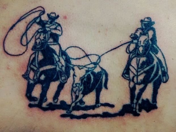 team roper tatuagens tattoo